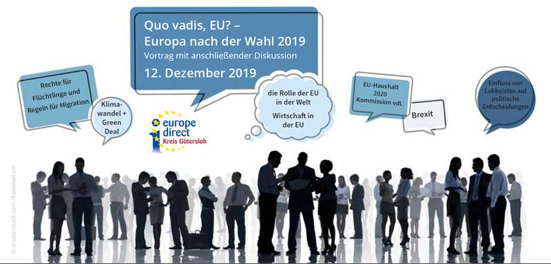 Europa nach der Wahl am 12.12. mit Sven Giegold MdEP