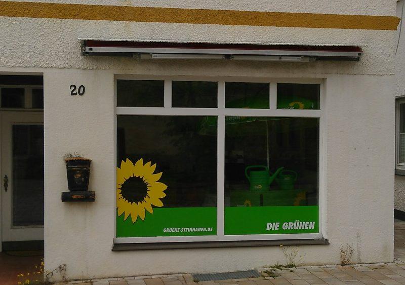 Grünes Büro - Aussenansicht