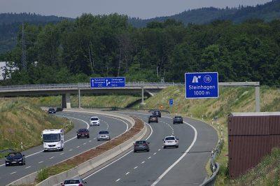 A33 Ausfahrt Steinhagen