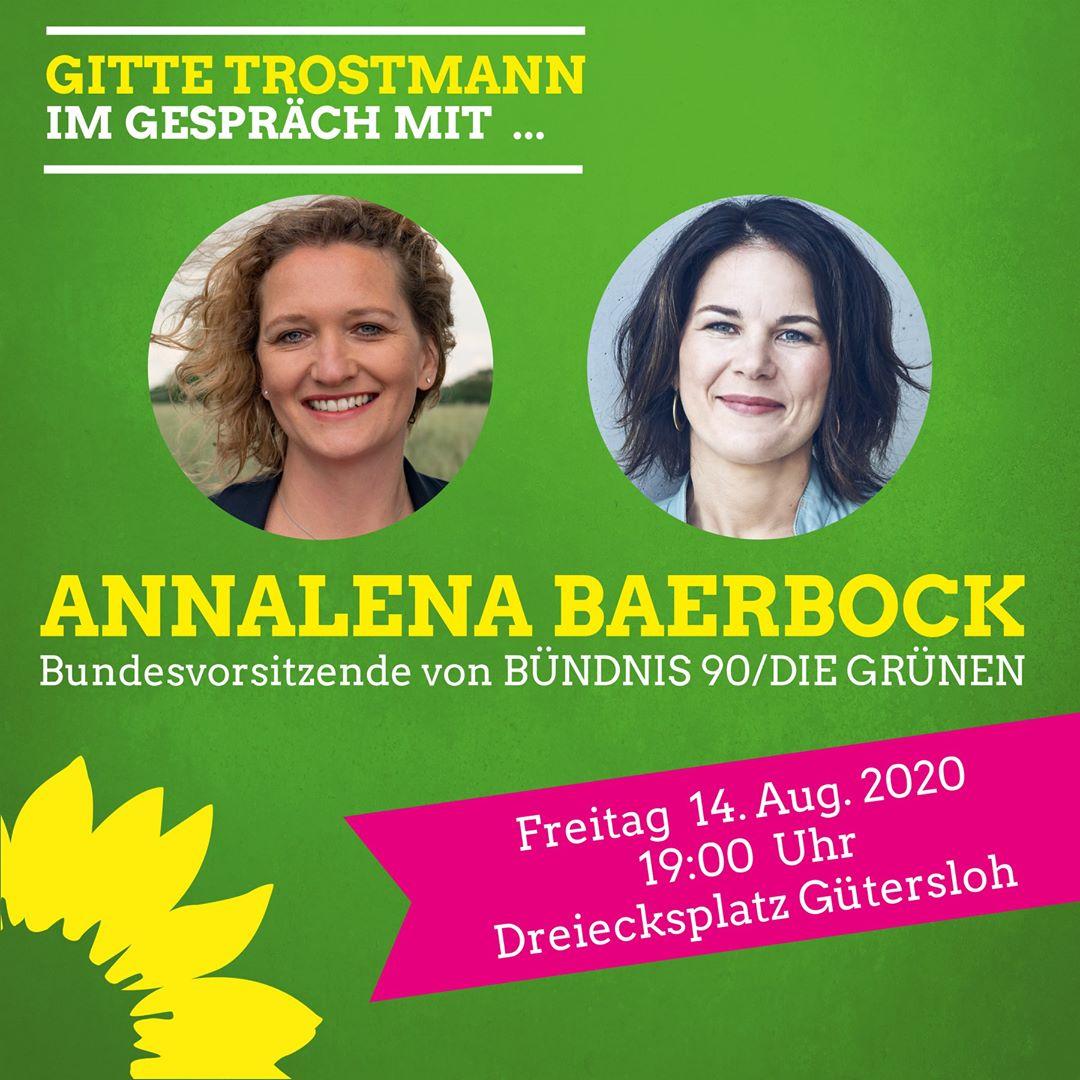 Annalena Baerbock kommt nach Gütersloh!
