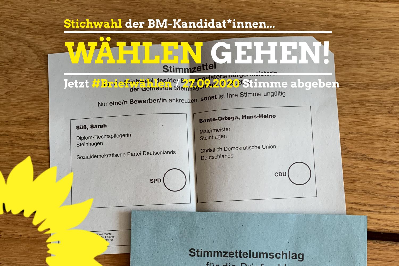BürgermeisterInnen-Stichwahl