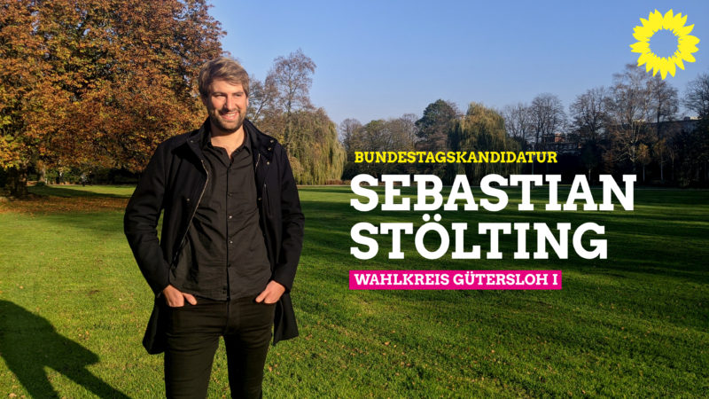 Bundestagswahl-Kandidat Sebastian Stölting Kreis Gütersloh I