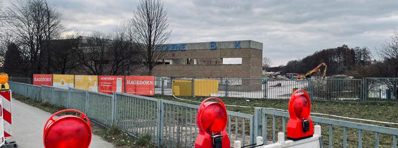 Bauplanungen der Firma Hagedorn