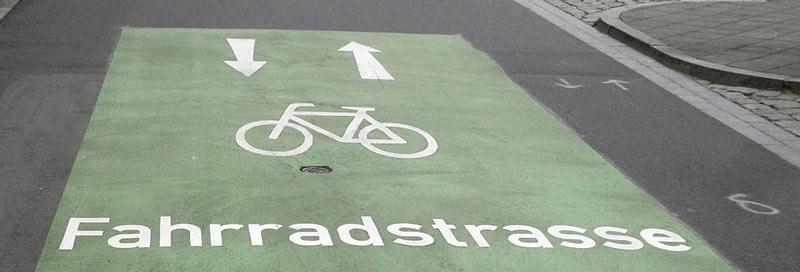 Erste Fahrradstraße für Steinhagen